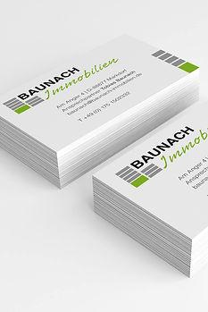 Baunach Immobilien – Corporate Design