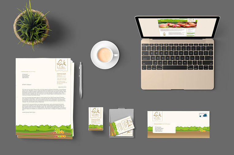 Corporate Design Schaubrennerei Fink