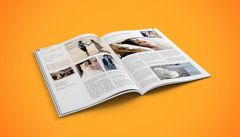 Magazin Traumzeit – Gestaltungskonzept, Umsetzung, Satz und Bildrecherche