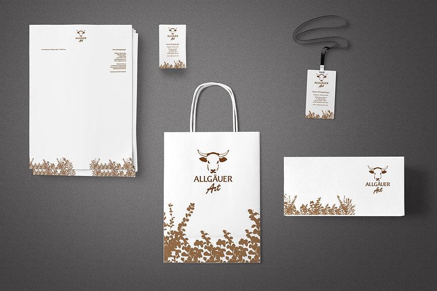 Allgaeuer Art – Corporate Design