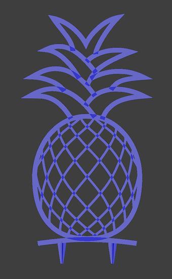 Trellis - Pineapple