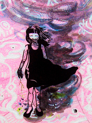 The Woman of Storms Available for purchase.