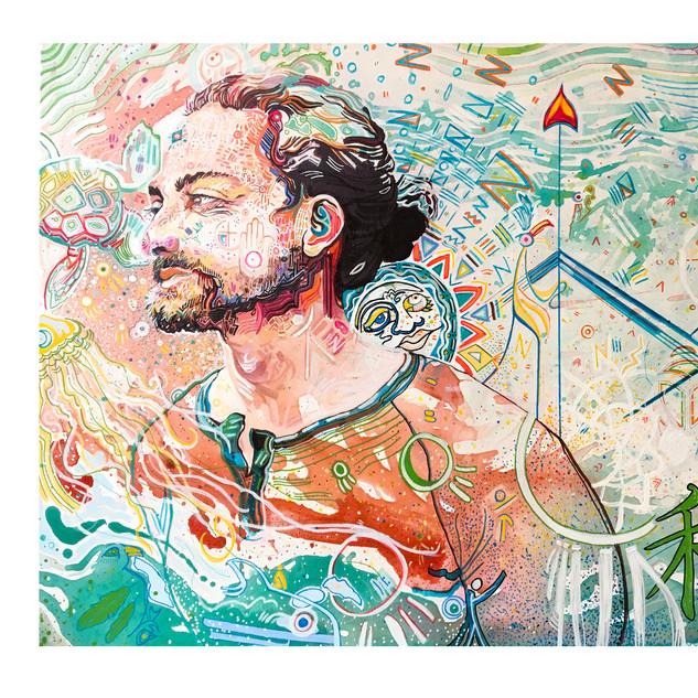"Artist Sample Portrait Artist, Will Evans Song Illustration,  ""Adam & Eve""  zZ Happy Listening Zz"