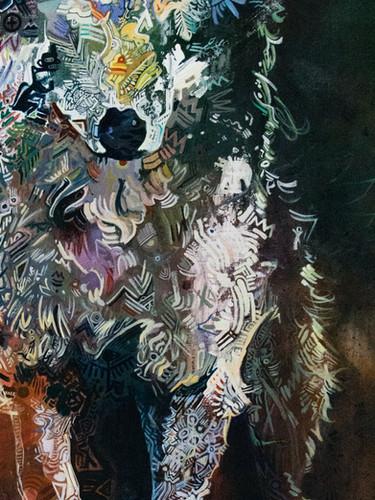 """First Wolf"" * Artist Collection"