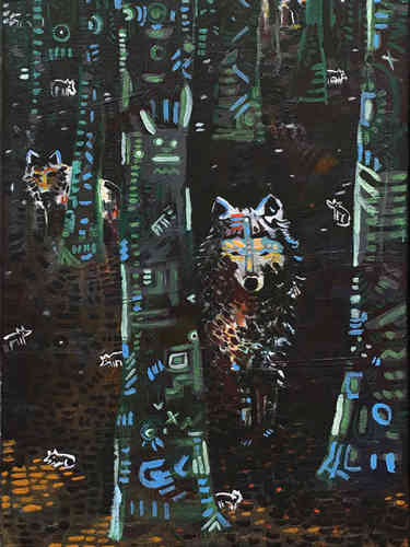 Wolves in my Backyard * Artists Collection