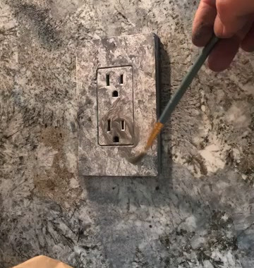 Faux Silver Granite How to video