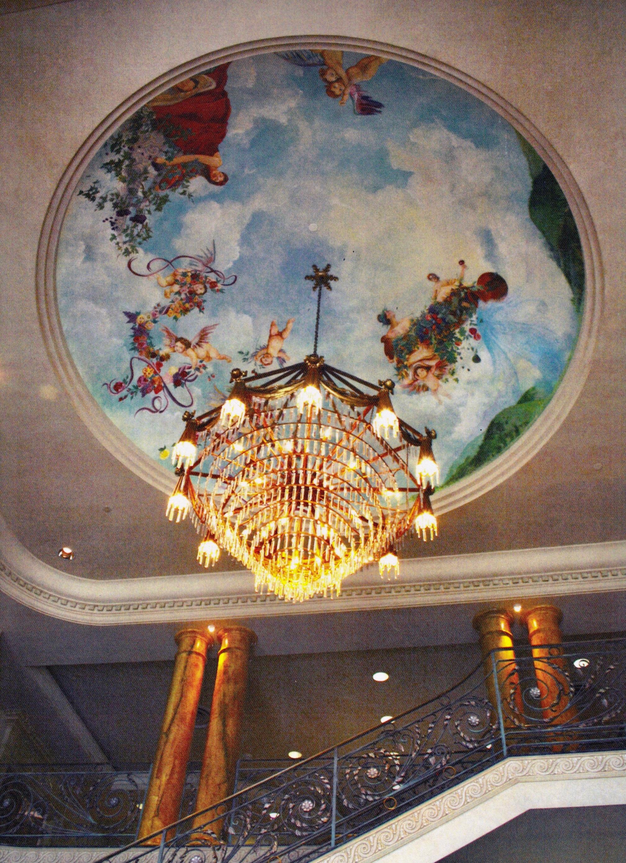 Ferrari Carano dome ceiling