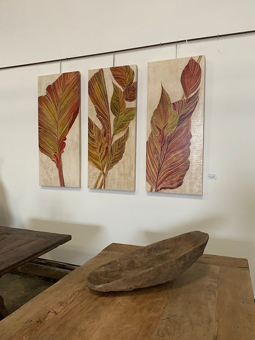 Canna Leaves Triptych.jpg