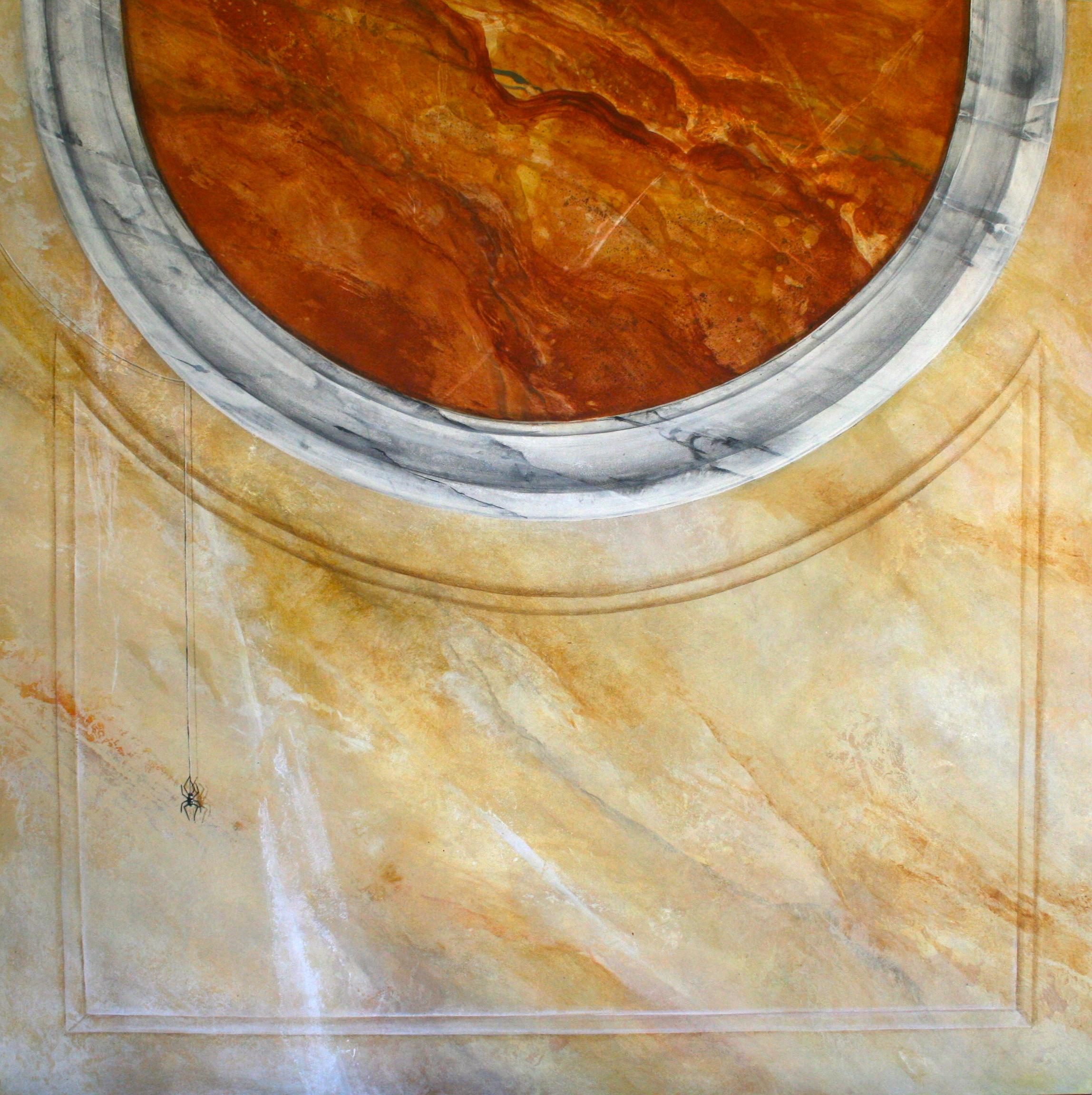 Trompe L'oiel faux marble 1