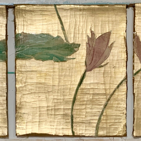 Peace Tapestry triptych