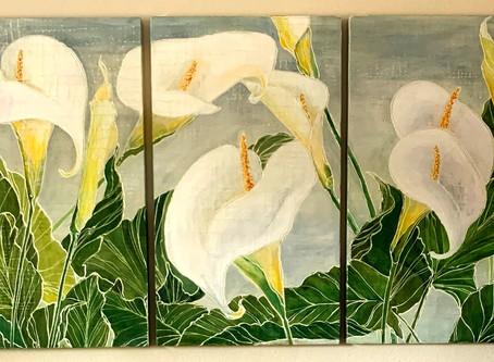 Callas... a springtime commission