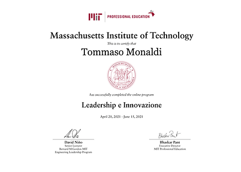 Tommaso Monaldi MIT