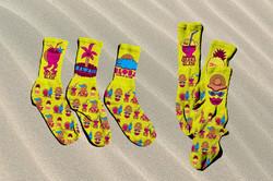 Hawaii Glam Socks