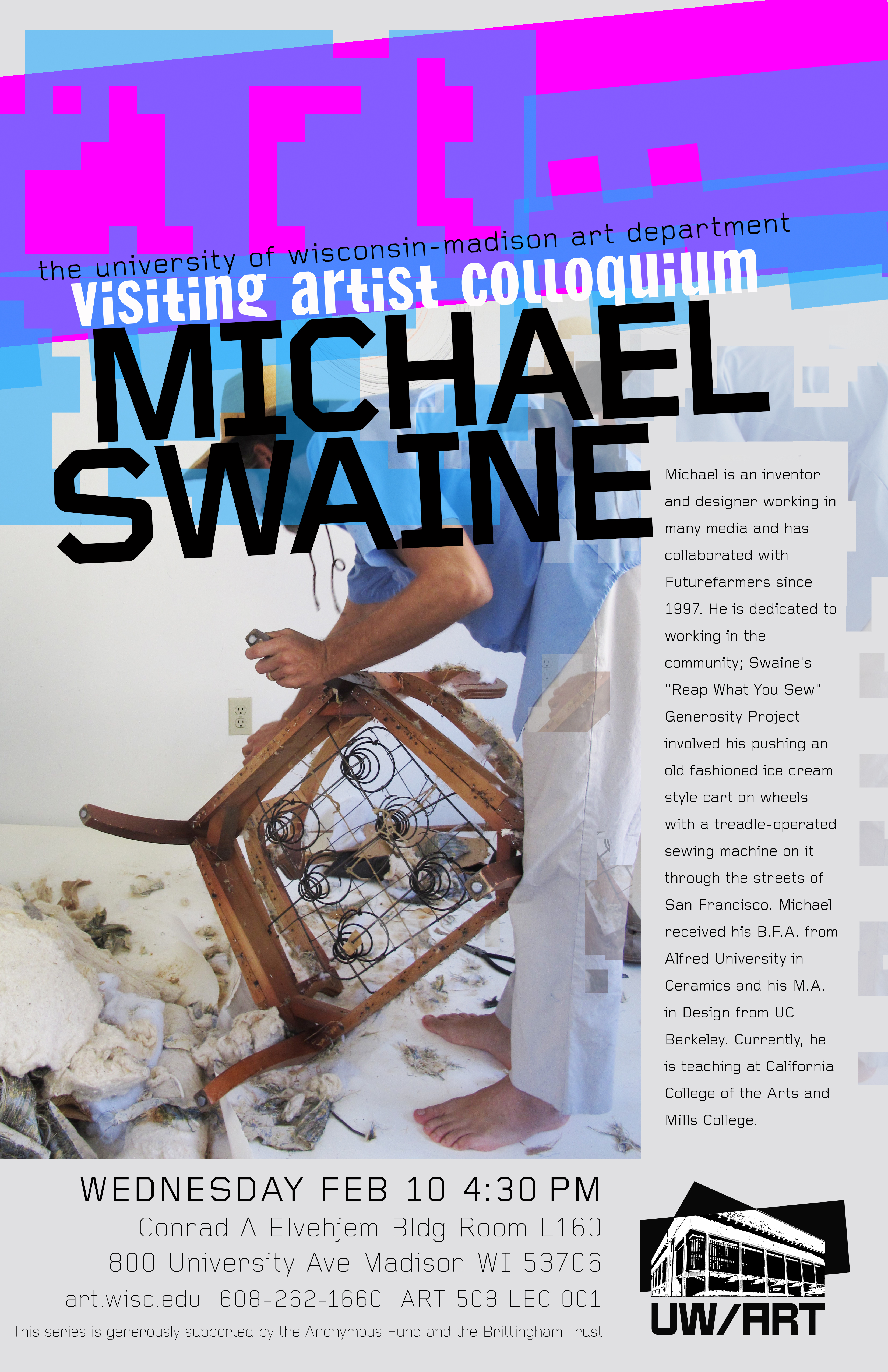 Poster 3 Michael Swaine