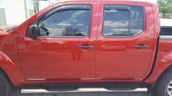 Tint - Visors - Nerf Steps Nissan Frontier
