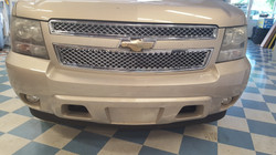 Chrome Grill Chevy SUV