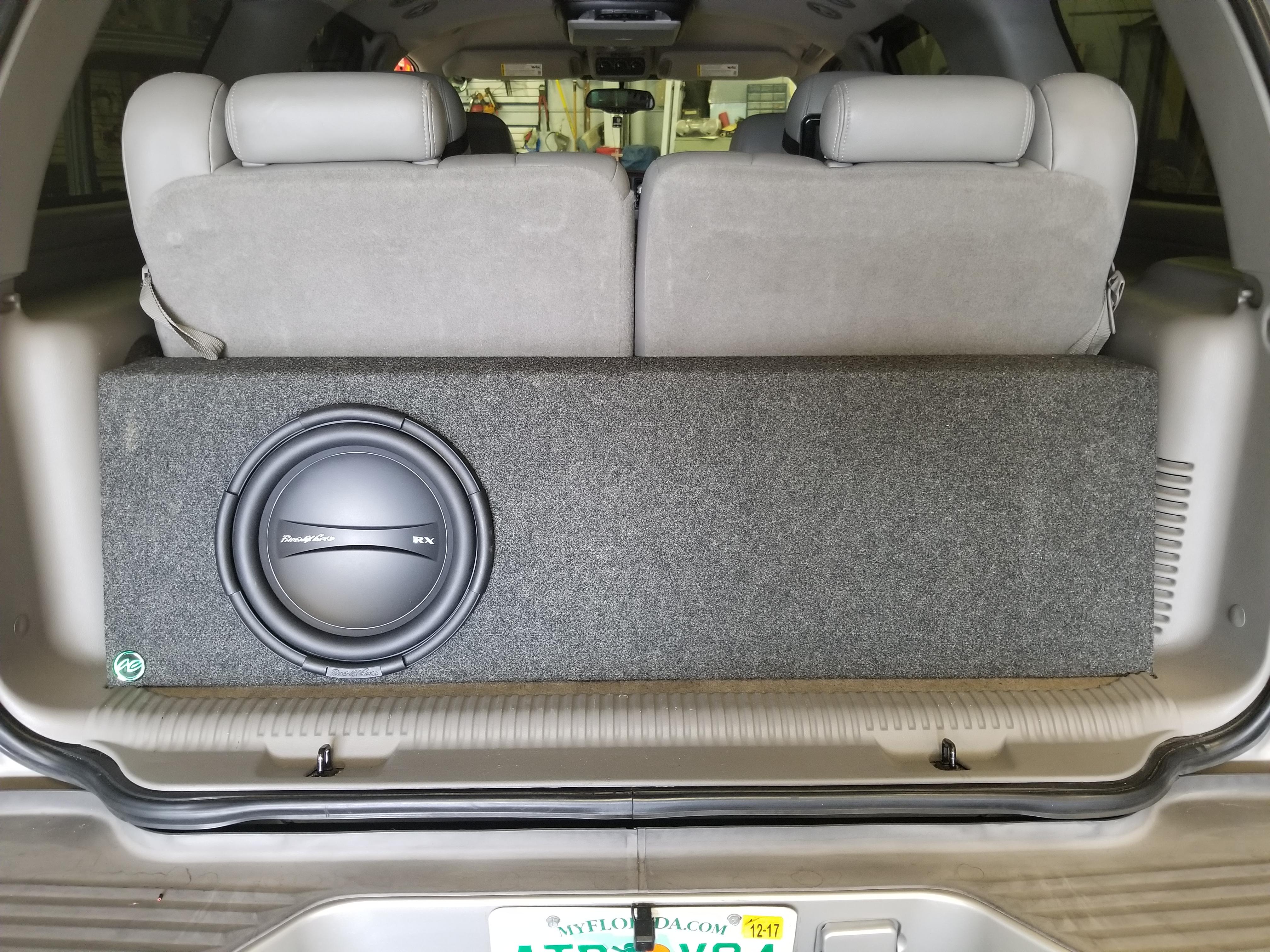 Phoenix Gold Sub Install SUV
