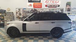 Window Tinting Range Rover