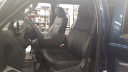 Leather Interior Ford F350