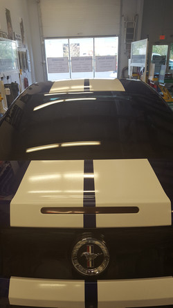 Racing Stripes Install Ford Mustang