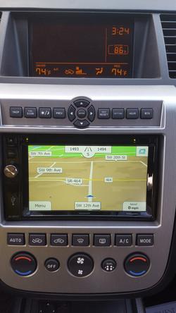 Advent Navigation Nissan Murano