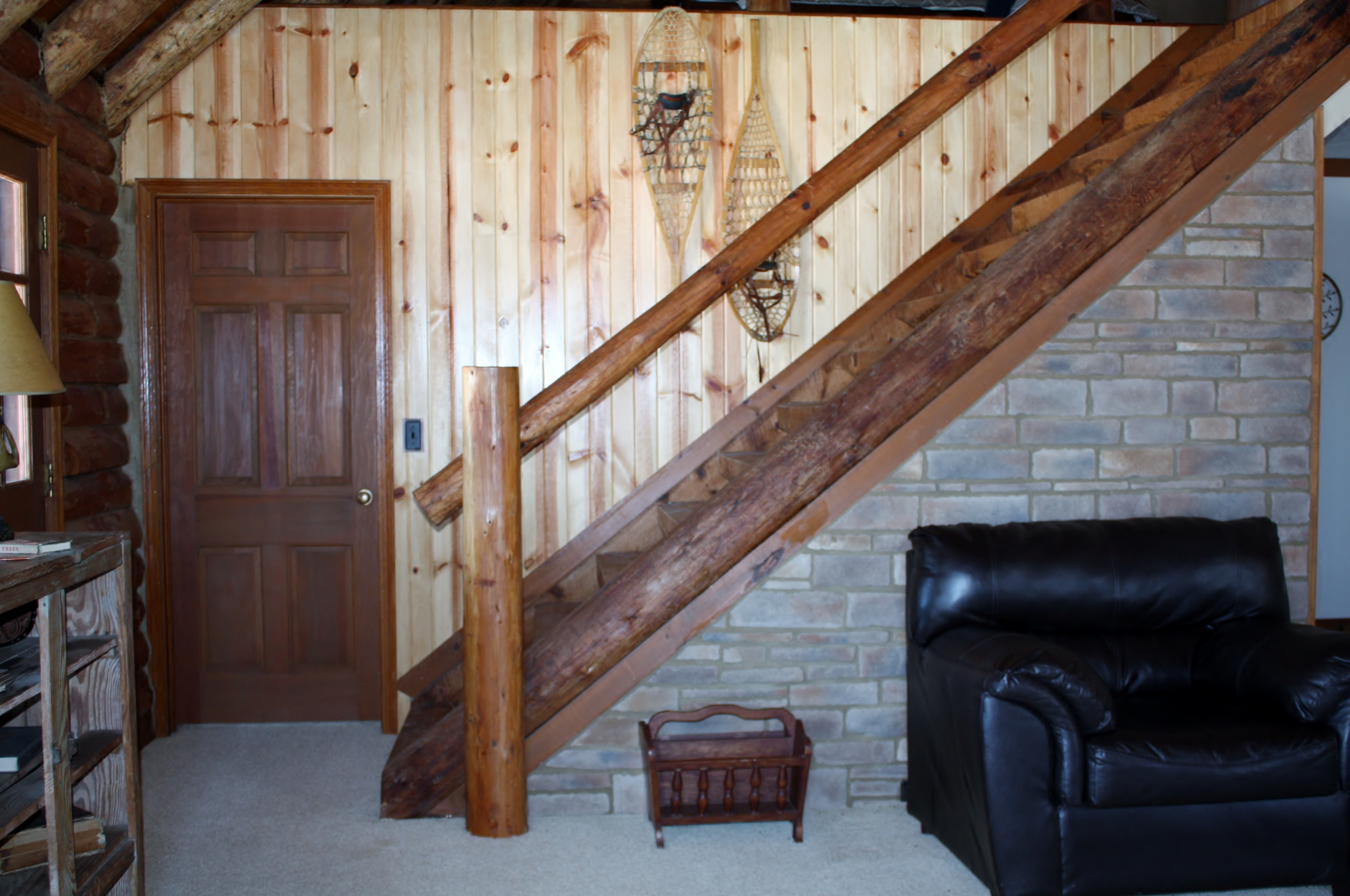authentic timbers throughout