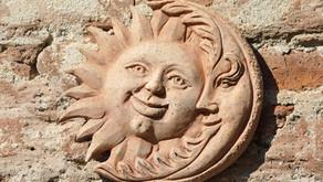 O caminho da Lua e o Sol