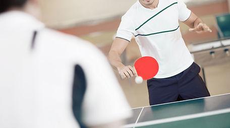 Les joueurs de ping-pong