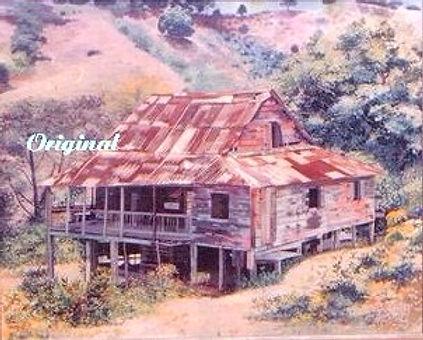 Casa vieja de Coamo Arriba editado edita
