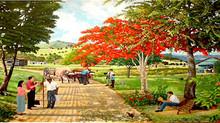 Pintando Paisajes de la Preciosa Naturaleza