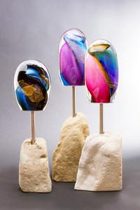 Vortex Sculpture, sandstone.