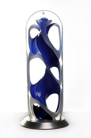 Helix Sculpture, Blue