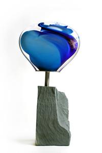 Vortex Sculpture, slate.