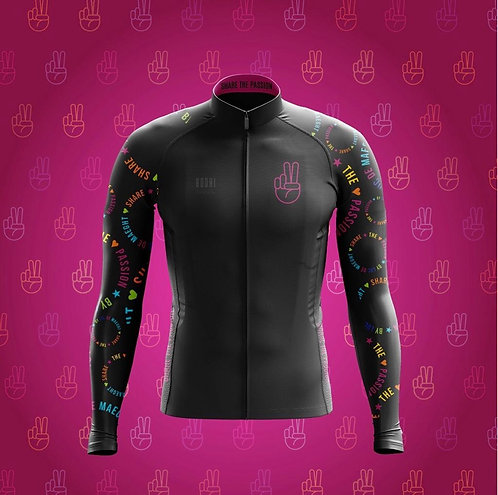 Share the Passion cycling rain coat