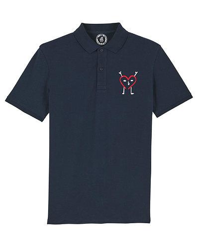 LDM The Love Brand Polo - navy blue