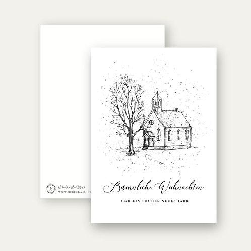 """""""Besinnliche Weihnachten""""- Postkarte A6"""