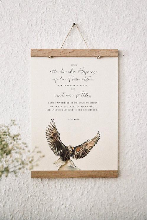 """""""Die auf den Herrn hoffen""""- A4 Print"""