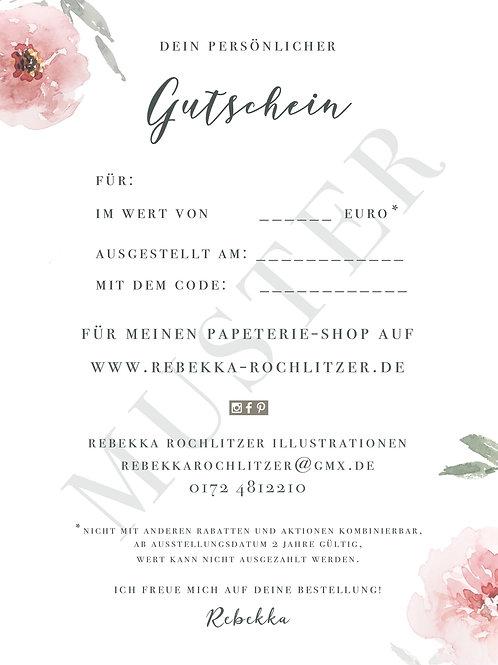 GUTSCHEIN- Onlineshop
