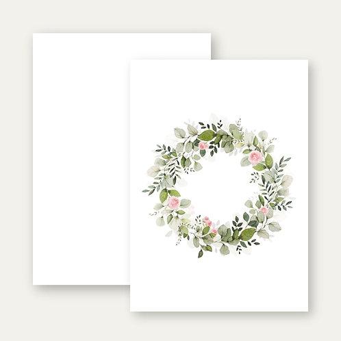 Floraler Rosenkranz PRINT A4 *individualisierbar*
