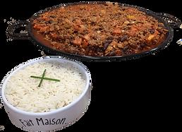 chili con carne - Traiteur à domicile Nantes