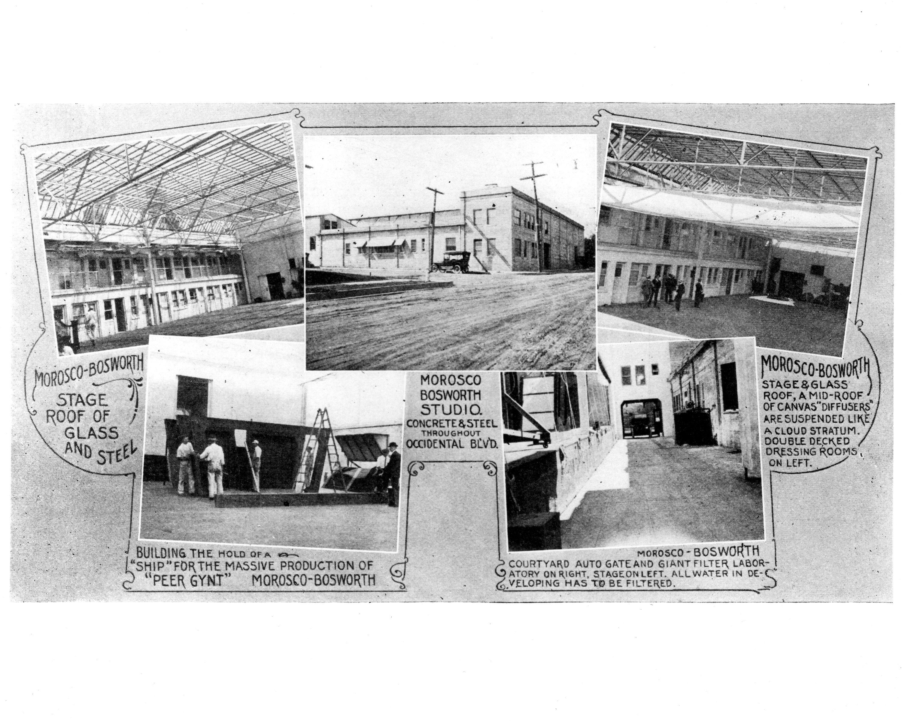 Morosco-Bosworth Studios 1914