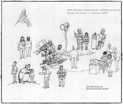 THE SECOND JUNGLE BOOK: crew cartoon