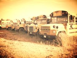 Broken Down Busses