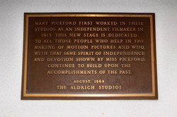 dedicated by Robert Aldrich (owner)