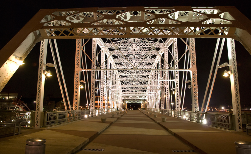 Shelby St Pedestrian Bridge