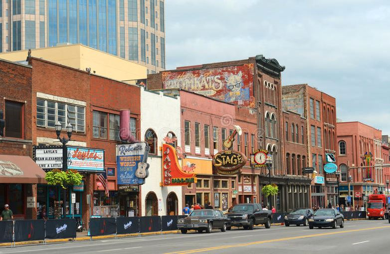 Broadway Downtown Nashville