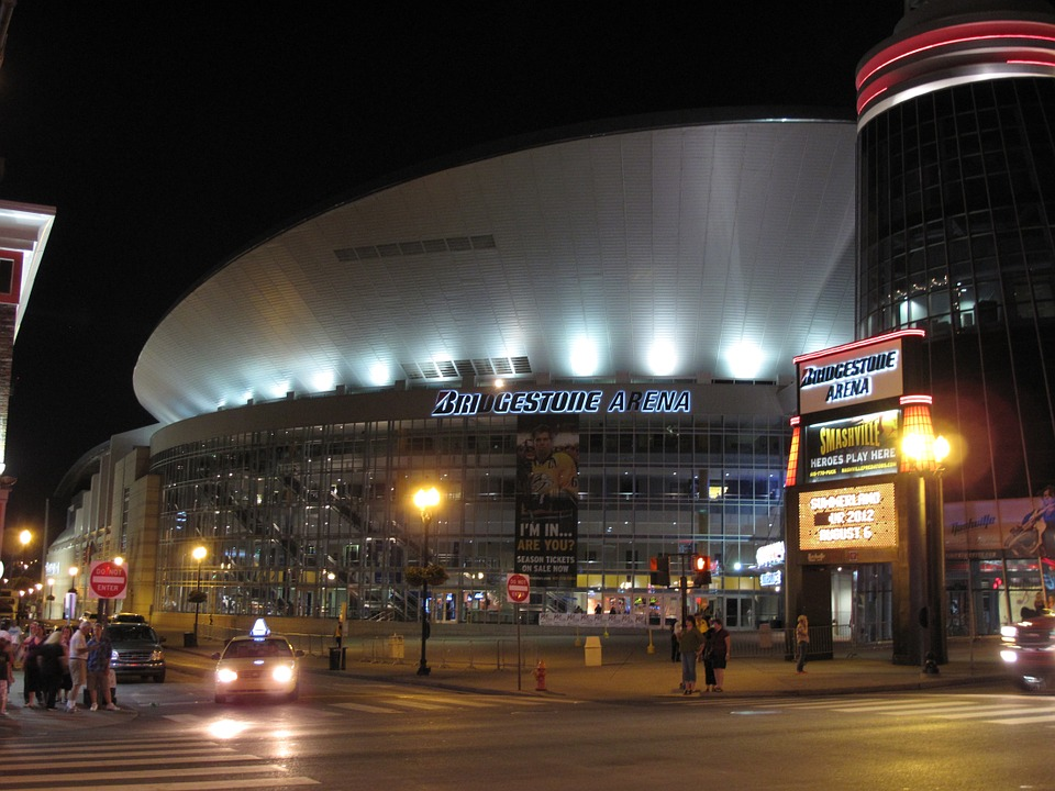 Bridestone Arena, Predators Hockey