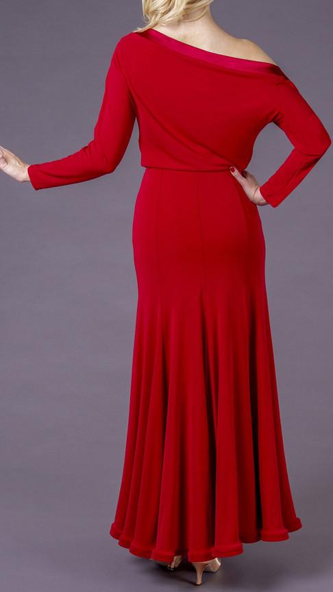 Burgundy Amira Dress