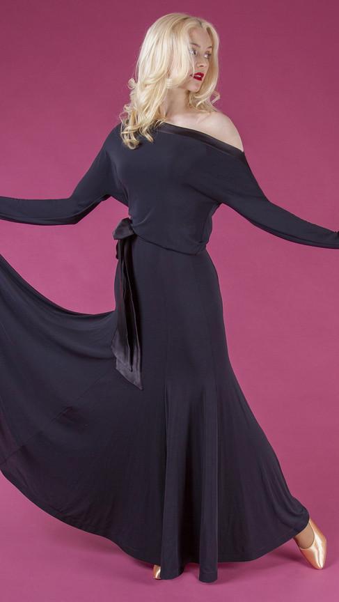 Black Amira Dress