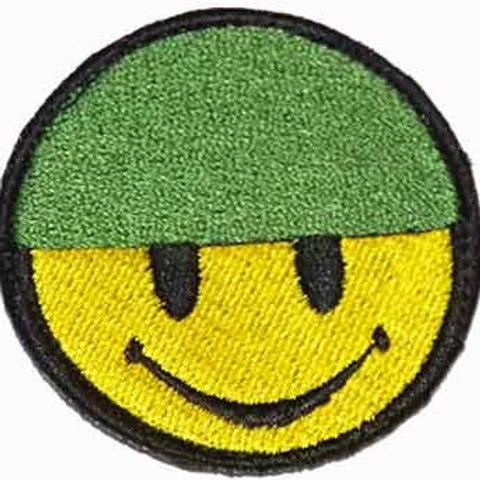 Patch (výšivka) voják smajlík